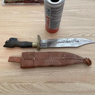 Philippines Handmade 1945 knife & sheath