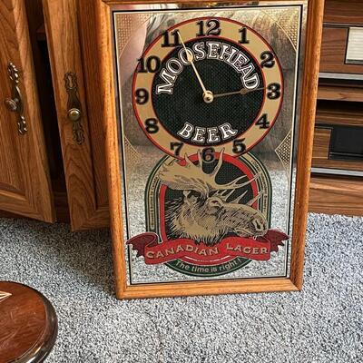 Moosehead Beer Clock
