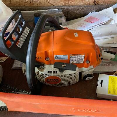 Stihl MS271 Chain Saw / like new / 4 years old
