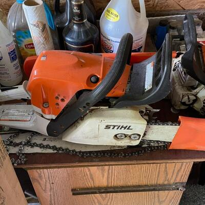 Stihl MS371 Chain Saw / like new / 3 years old