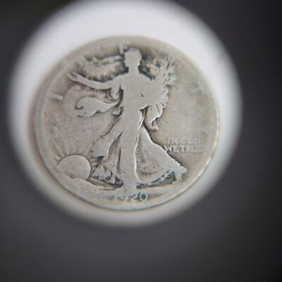 1920 WALKING LIBERTY SILVER COIN