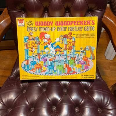 Vintage Woody woodpecker game