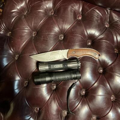 Flashlights and knife bundle