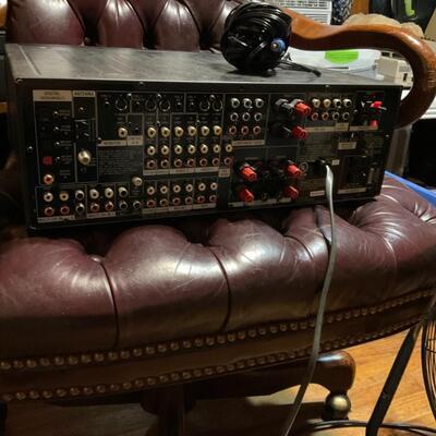 Sony ES STR-DA2ES A/V receiver with Dolby Digital EX, DTS-ES, Pro Logic II