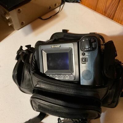 Sharp 8 viewcam hi-fi monaural vl-e39