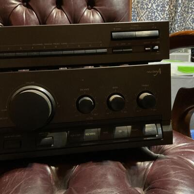 Technics SU-G91 Integrated Stereo Amplifier ST-K50 AM/FM Tuner