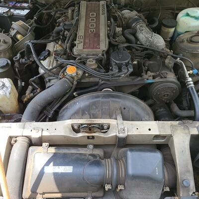 Lot 600: 1987 Nissan 300ZX Car up for auction! It runs! Was garage kept!