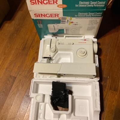 Singer 2517 sewing machine in box