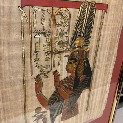 Egyptian cloth art