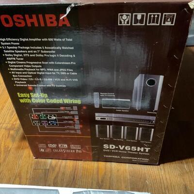 New Toshiba speakers