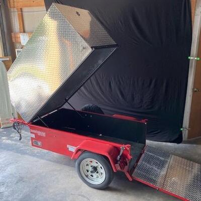 LOT#D1: Scolta Mobility Chair Trailer w/ Spare Tire