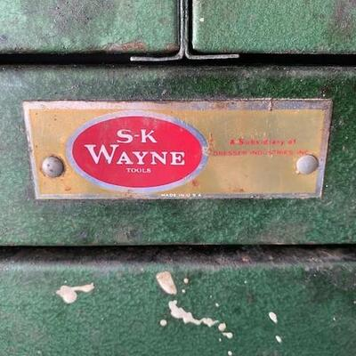 LOT#U4: SK Wayne Machinist Tool Chest