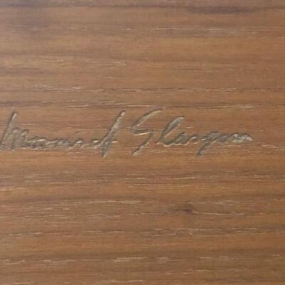 LOT#H15: Signed Morris Glasgow MCM Sideboard