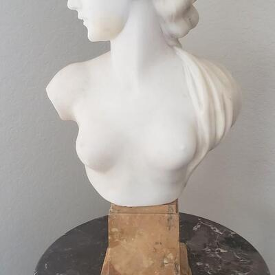 The French Lady Marble Bust