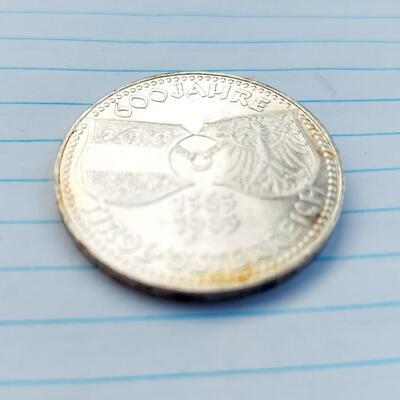 1963 AUSTRIAN SILVER 50 SHILLING COIN