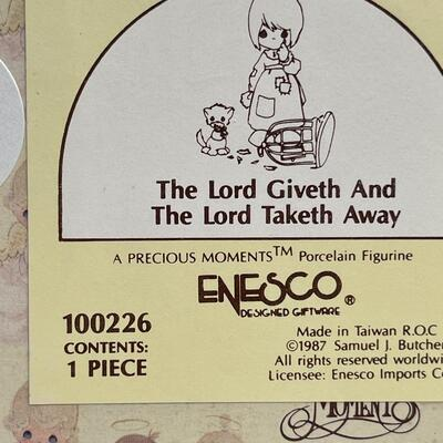 13 - The Lord Giveth And The Lord Taketh Away