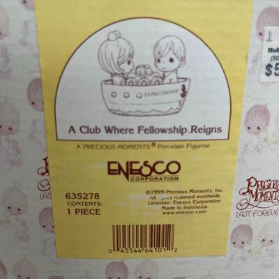 19 - A Club Where Fellowship Reigns