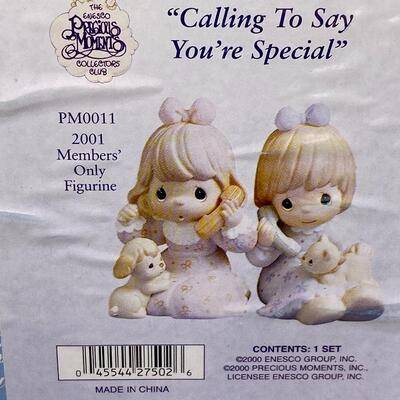 24 - Calling to Say Your Special