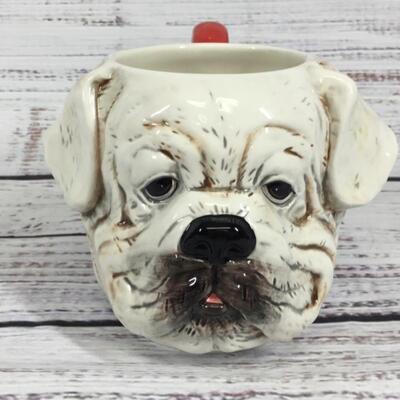 Bulldog Dog Coffee Mug Cup