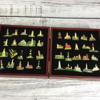 Lighthouse Enamel Pin Collection