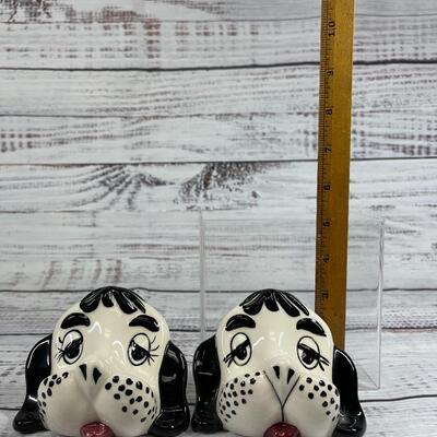 Dalmatian dog hound puppy eye glass holders