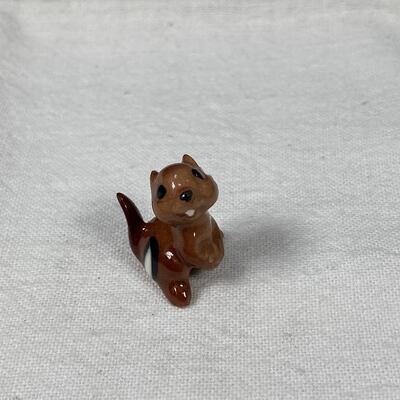 Vintage Hagen Renaker Ceramic Chipmunk Figurine