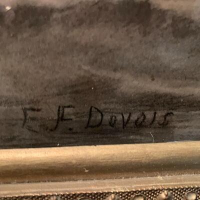 E.F. DeVois Original Charcoal -