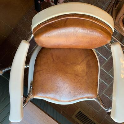 Antique Child's Barber Chair with Horse Head