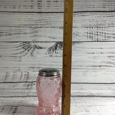 Pink Depression Glass Vintage Salt & Pepper Shakers