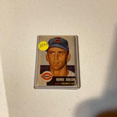 Vintage Howie Judson card