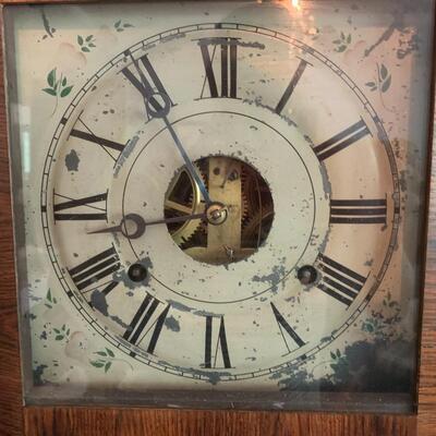 1840's Seth Thomas Triple Scroll 8-Day Clock