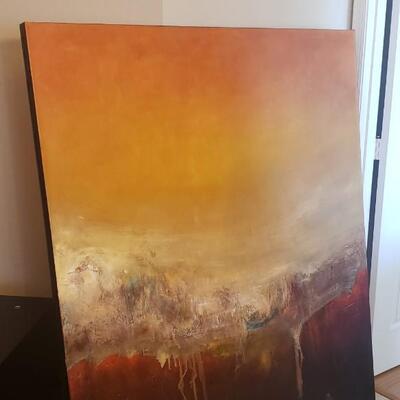 Alex Espalter-Torres Painting, Tiresias, 52 x 62