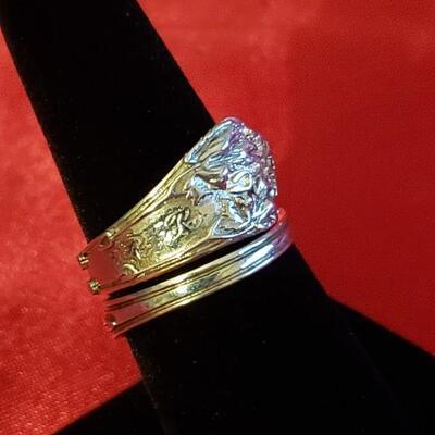 Vintage Sterling silver ring  11.1g