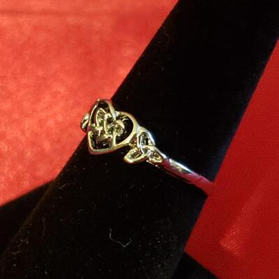 Sterling silver ring size 6
