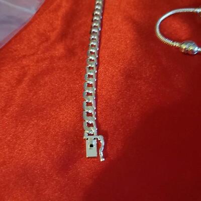 Sterling silver bracelet  52..7g