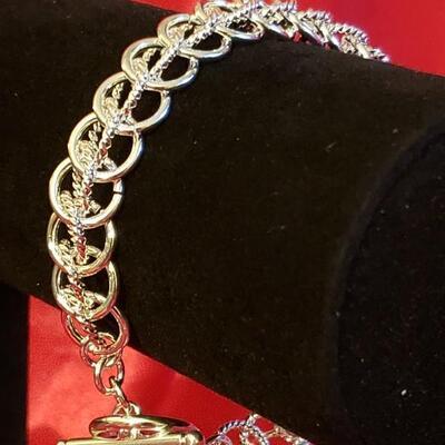 Sterling silver bracelet  52.4 g