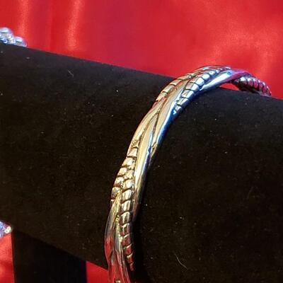 Vintage Sterling silver bracelet  23.2 .1 g