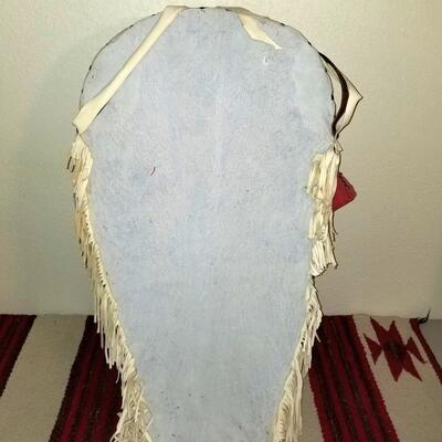 Beaded leather Cradleboard