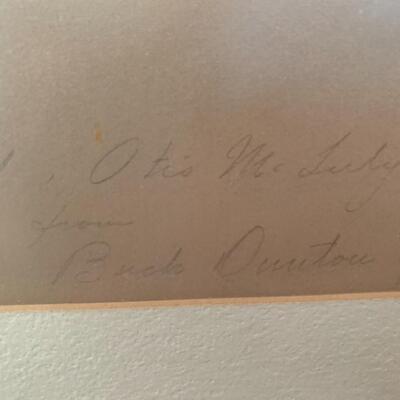 Signed William Herbert Dunton of Taos aka
