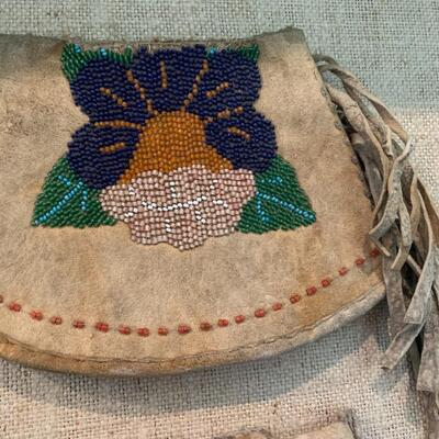 Native American Pow Wow Wrist Gauntlets from Buffalo Bill Cody of the famous Wild West Show of the 1800's