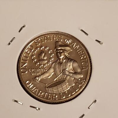 90 % Silver Gem BU Proof Bicentennial  Quater
