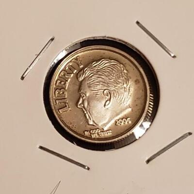 2006 Special mint Silver  Ronald Regan collectable dime
