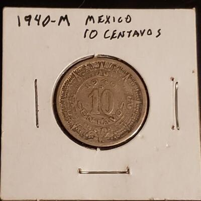 1940 m Mexico 10 centavos