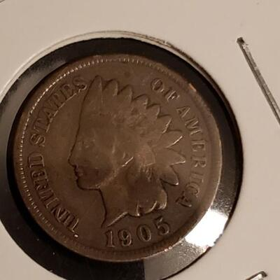 1905 VG Indian head cent
