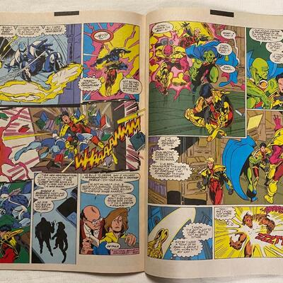 DC, Justice League Task Force, #25