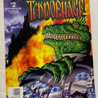 Tekno Comix, Teknophage, #2