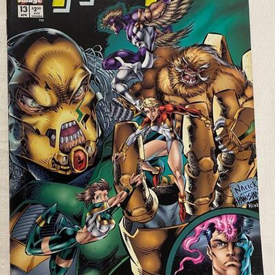 Image Comics, Newmen, #13