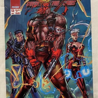 Image; WildC.A.T.S: Covert Action Teams, #13