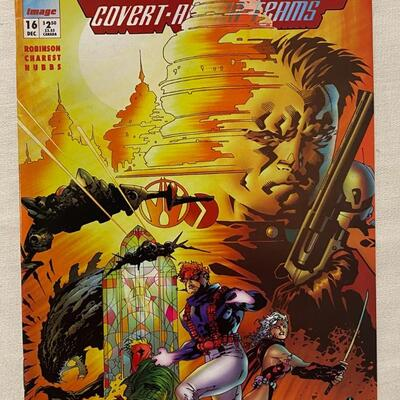 Image; WildC.A.T.S: Covert Action Teams, #16