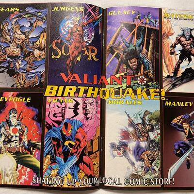 Valiant, NINJAK, Vol 1. No.0